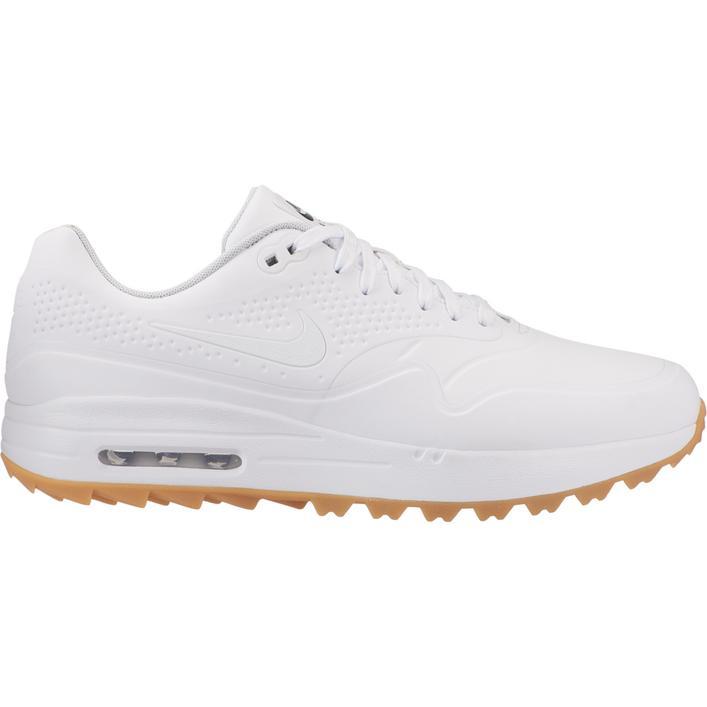 Men's Air Max 1 G Spikeless Golf Shoe - WHITE/LIGHT BROWN