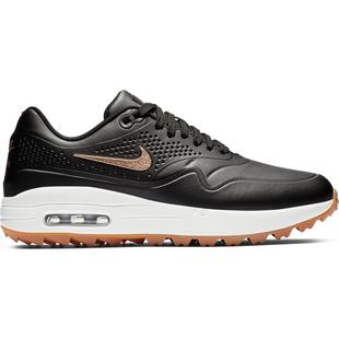 Women's Air Max 1 G Spikeless Golf Shoe - BLACK/ROSE GOLD
