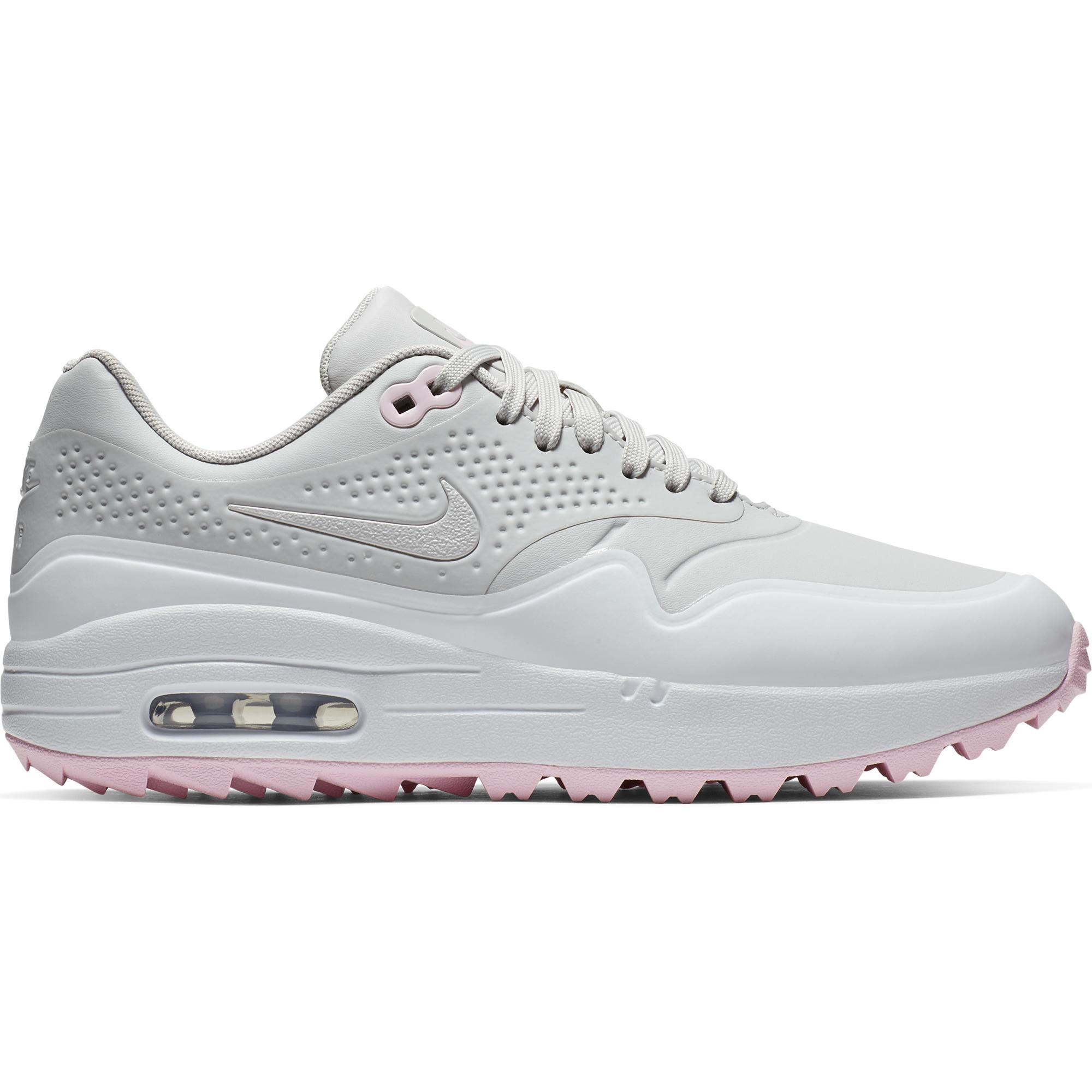 Women's Air Max 1 G Spikeless Golf Shoe - GREY/LIGHT PINK