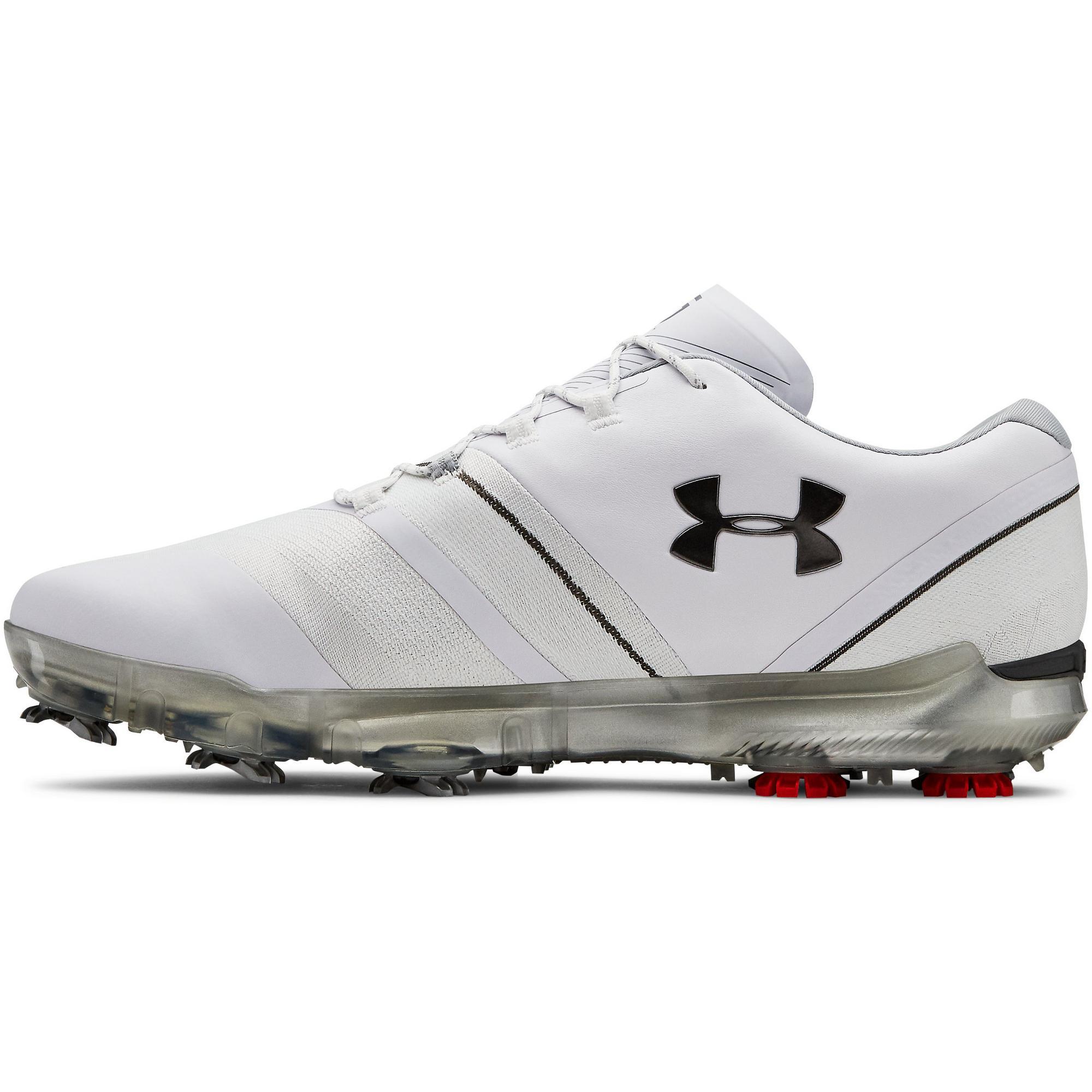 Men's Spieth 3 Spiked Golf Shoe - WHITE
