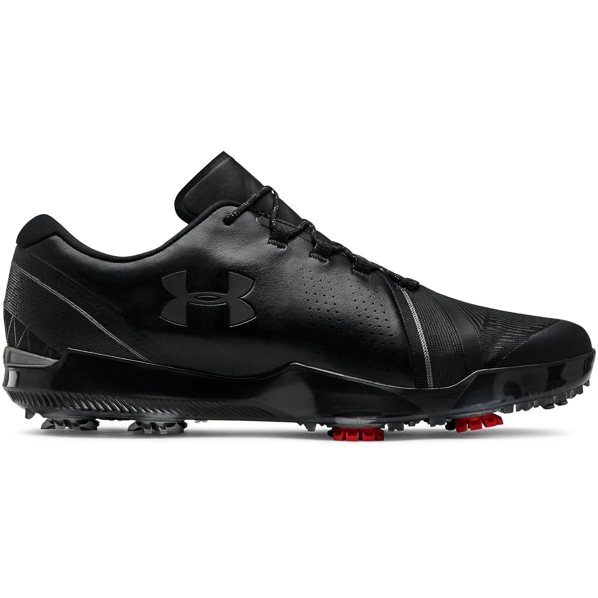 Men's Spieth 3 Spiked Golf Shoe - BLACK