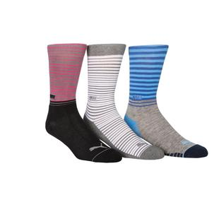Men's Stripe Crew Socks - 3 Pack