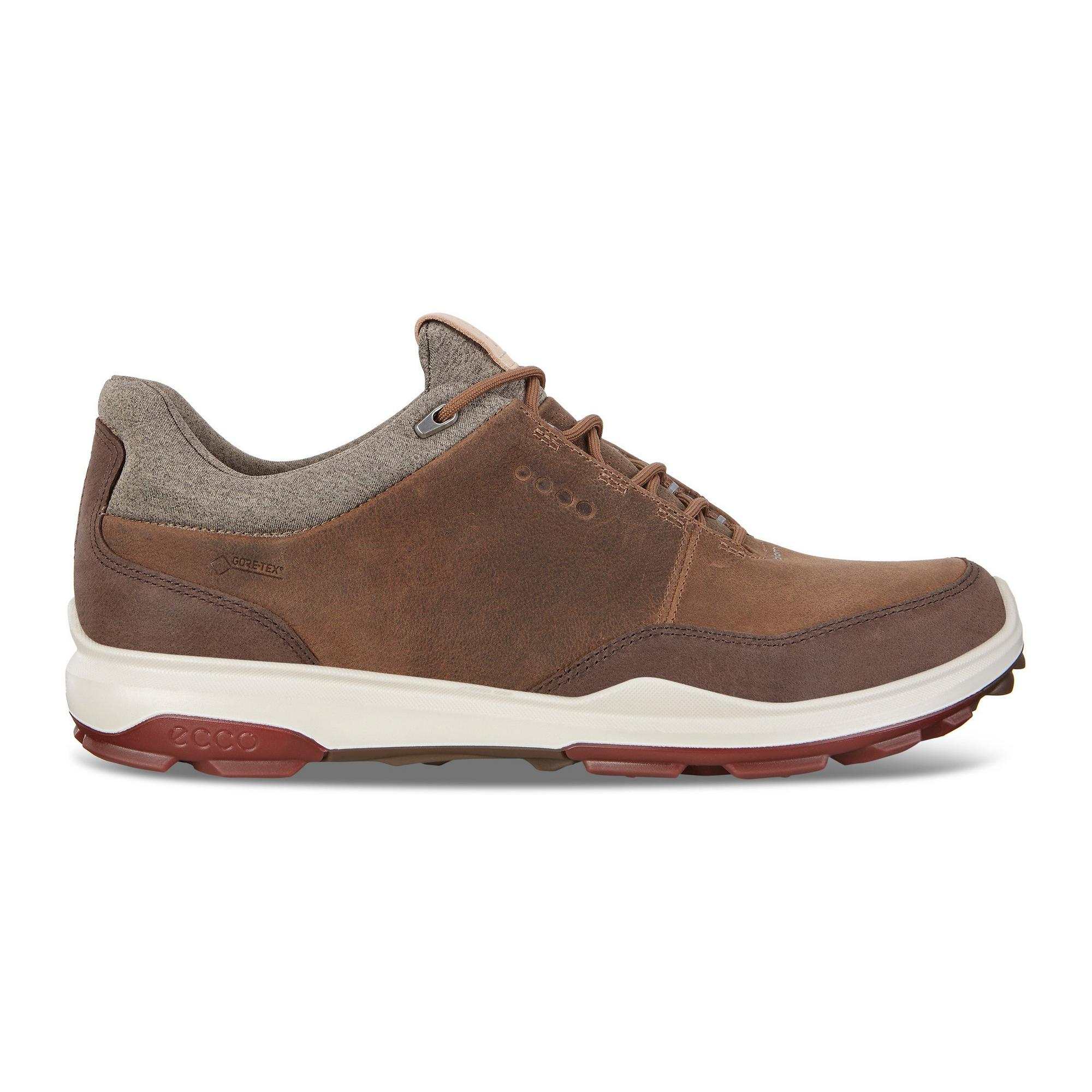 Men's Goretex Biom Hybrid 3 Nubuck Spikeless Golf Shoe - BROWN