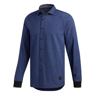 Men's adicross Beyond 18 Woven Oxford Long Sleeve Shirt