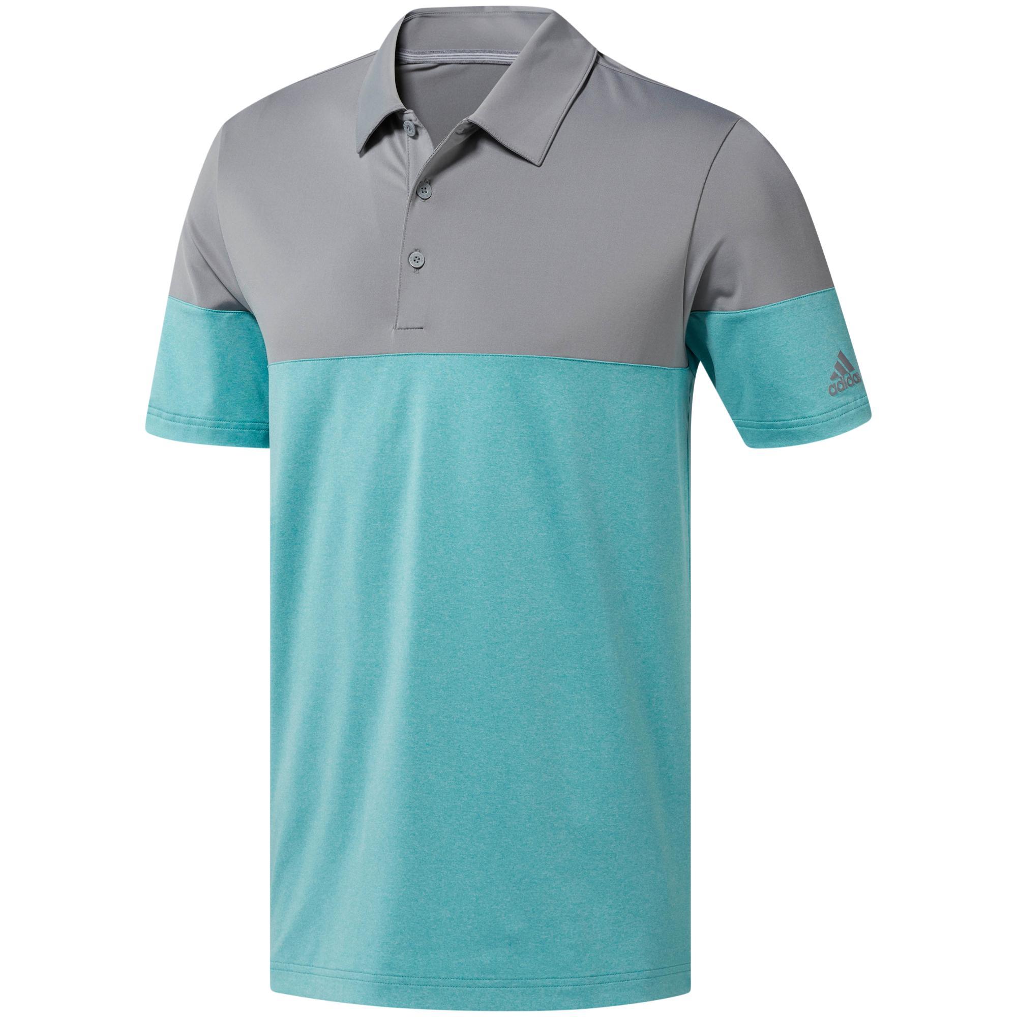Men's Ultimate 365 Heather Blocked Short Sleeve Shirt