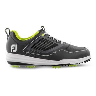 Men's Fury Spiked Golf Shoe - GREY/WHITE/GREEN