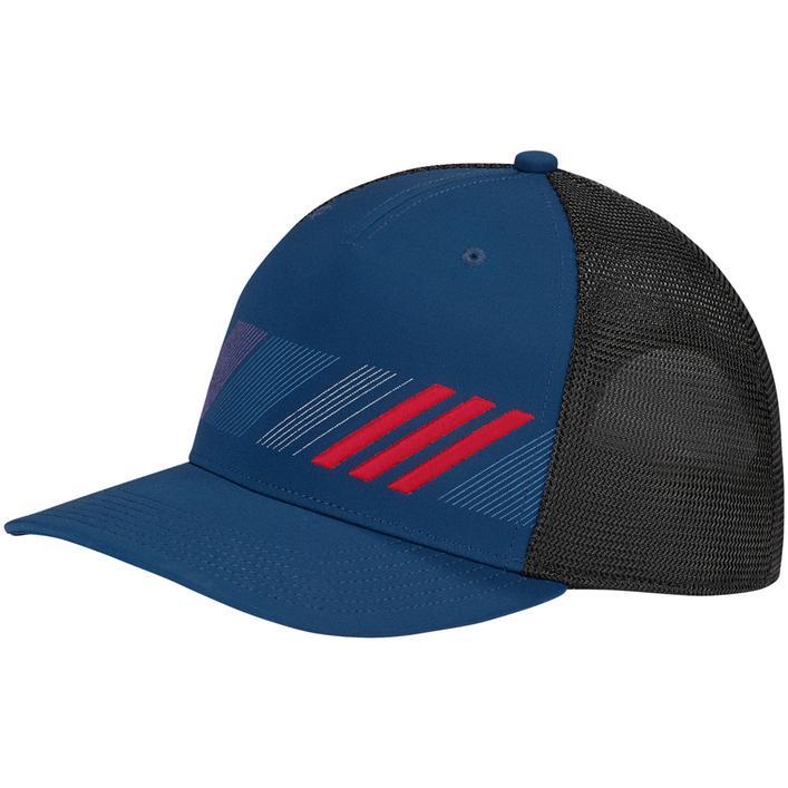 Men's Stripe Trucker Cap