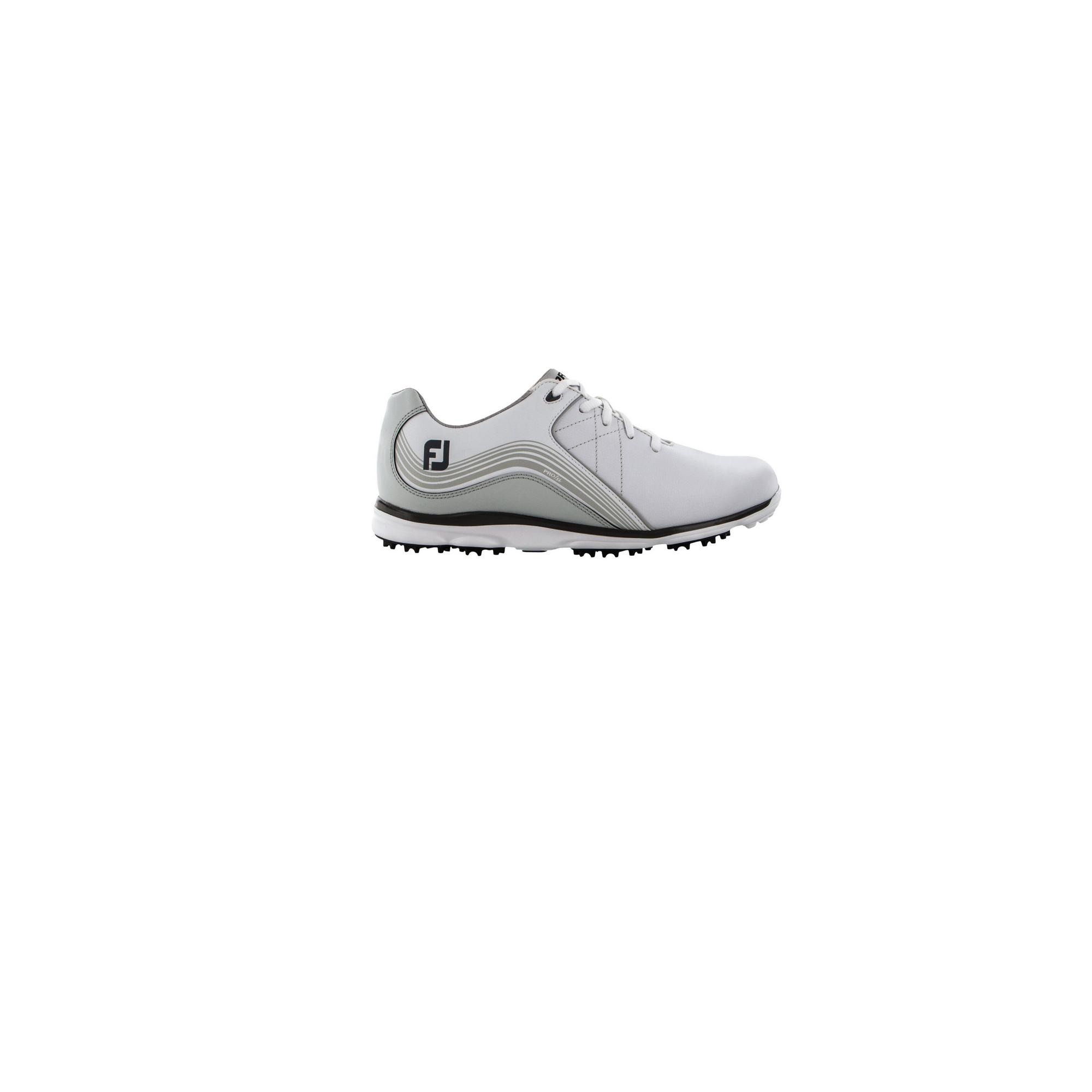 Women's Pro SL Spikeless Golf Shoe - WHITE/SILVER