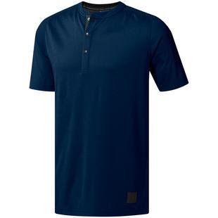 Men's adicross No-Show Transition Henley Short Sleeve Shirt