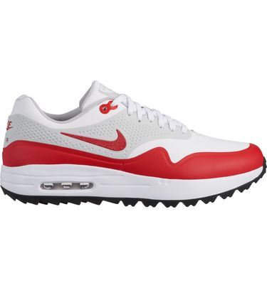 145899c8b2c2 Men s Air Max 1 OG Spikeless Golf Shoe - WHITE RED   Golf Town Limited
