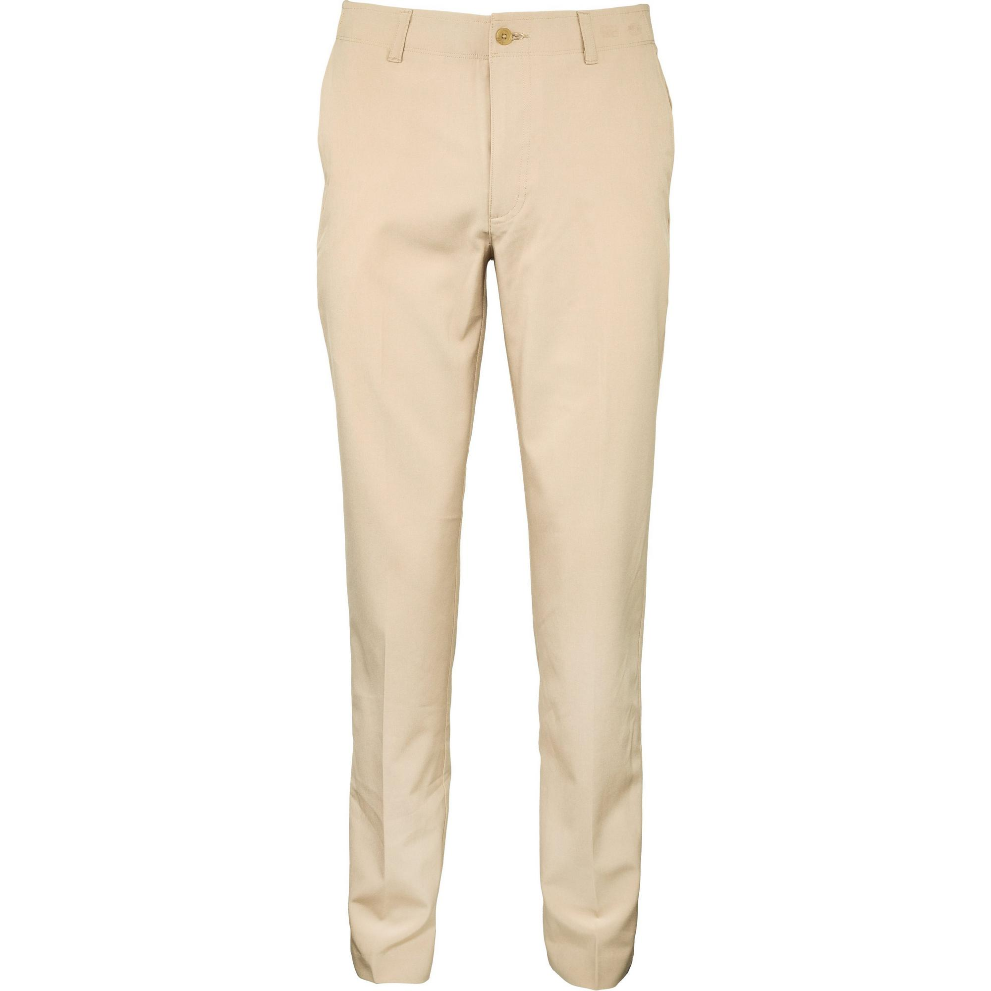 Men's Solid Pant with Active Waistband