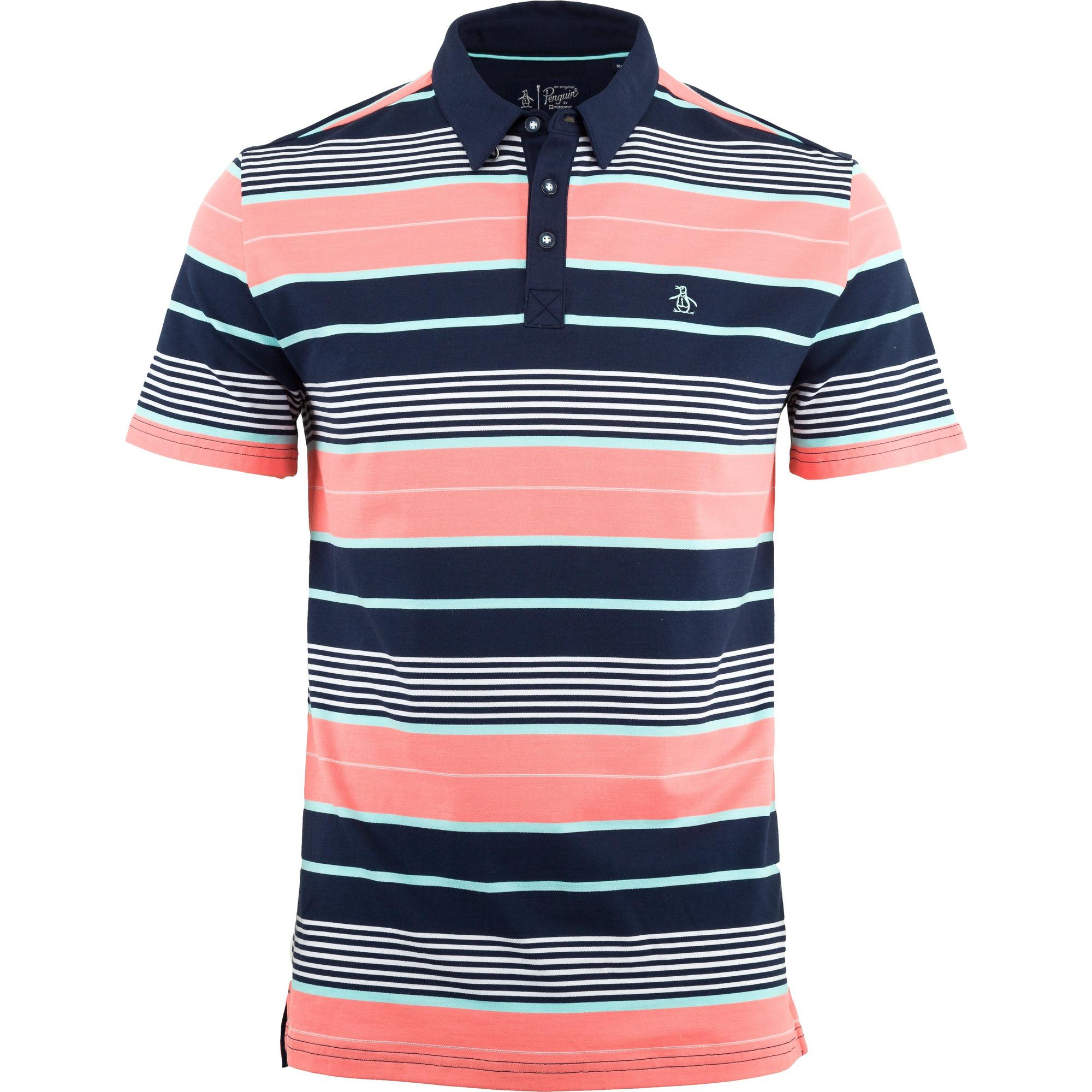 Men's Roadmap Stripe Stretch Short Sleeve Shirt