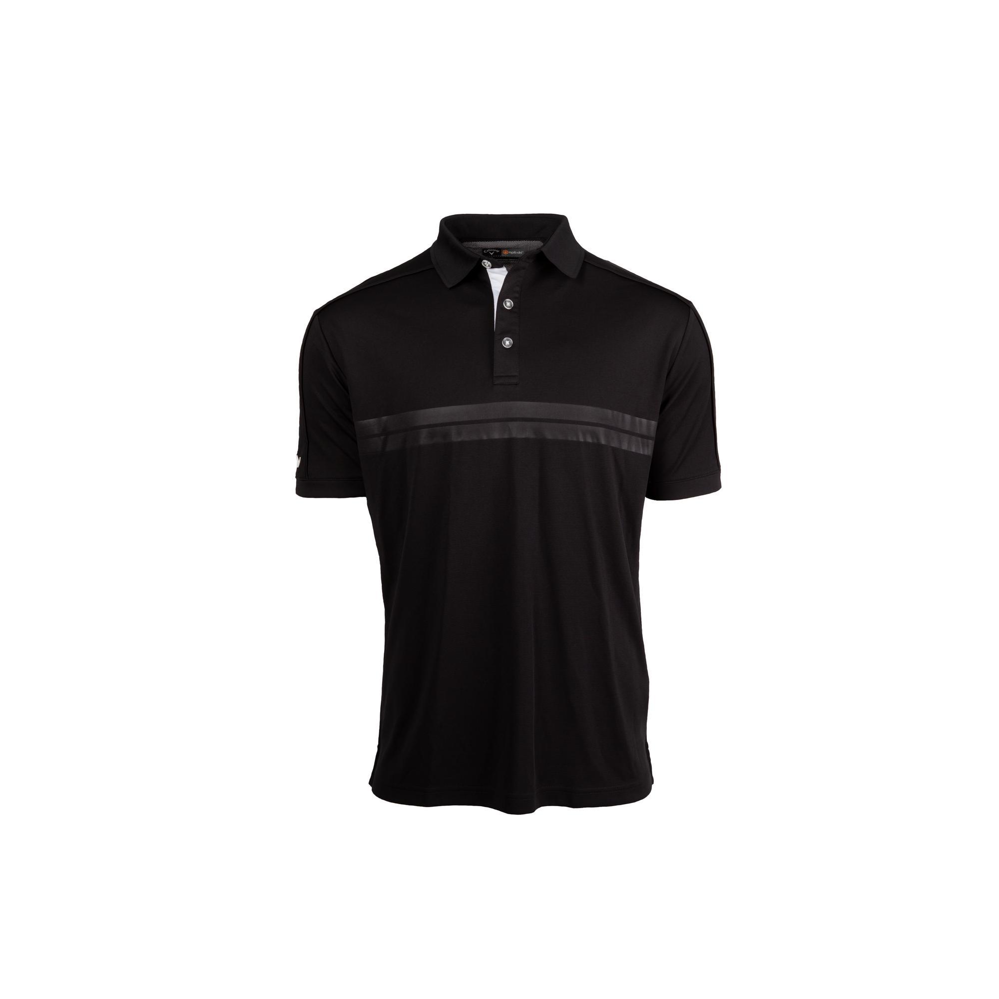 Men's Embossed Athletic Short Sleeve Shirt