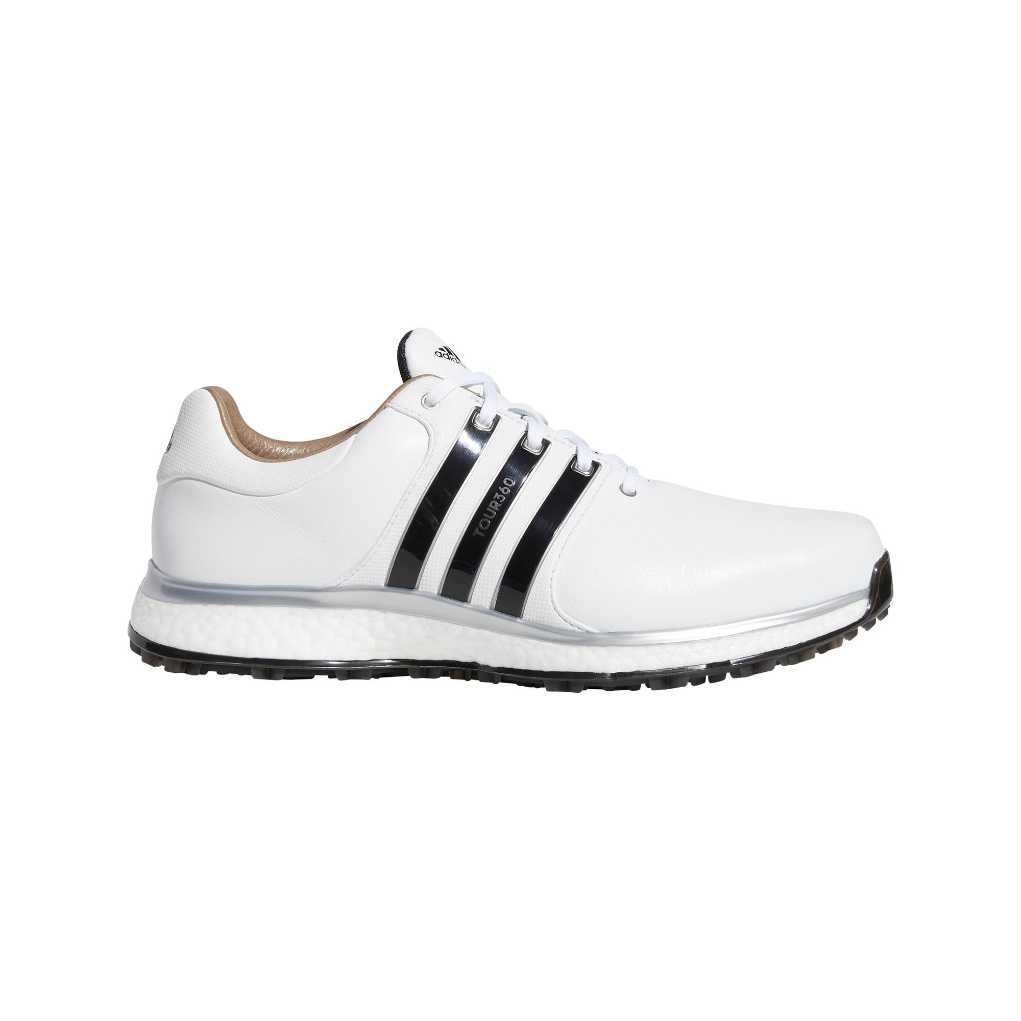 Men's Tour360 XT Spikeless Golf Shoe - WHITE/BLACK/SILVER