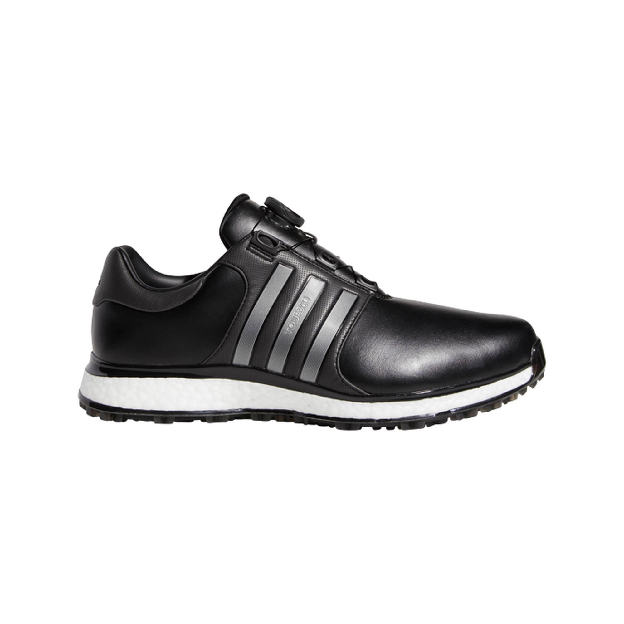 Men's Tour360 XT Boa Spikeless Golf Shoe - BLACK/SILVER/WHITE