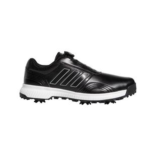Men's CP Traxion Boa Spiked Golf Shoe - BLACK/WHITE/SILVER
