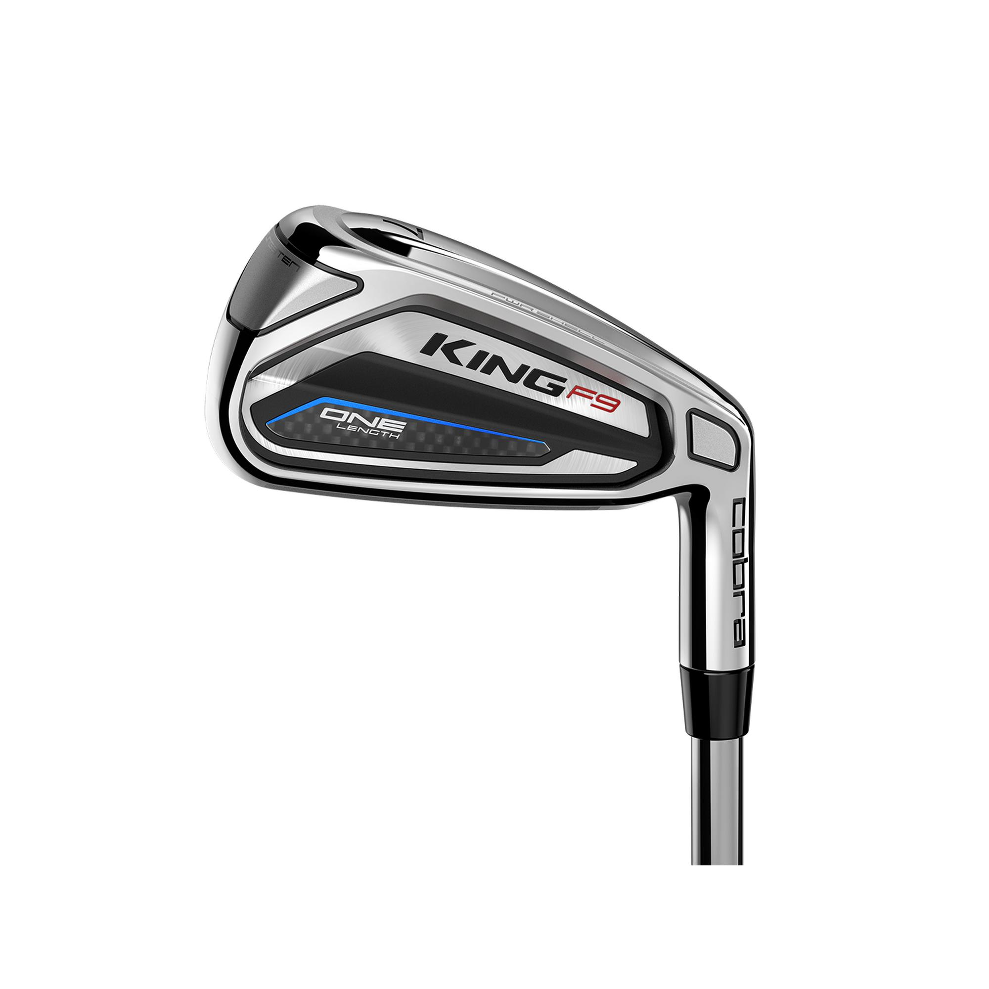 King F9 One Length 5-PW, GW Iron Set with Steel Shafts