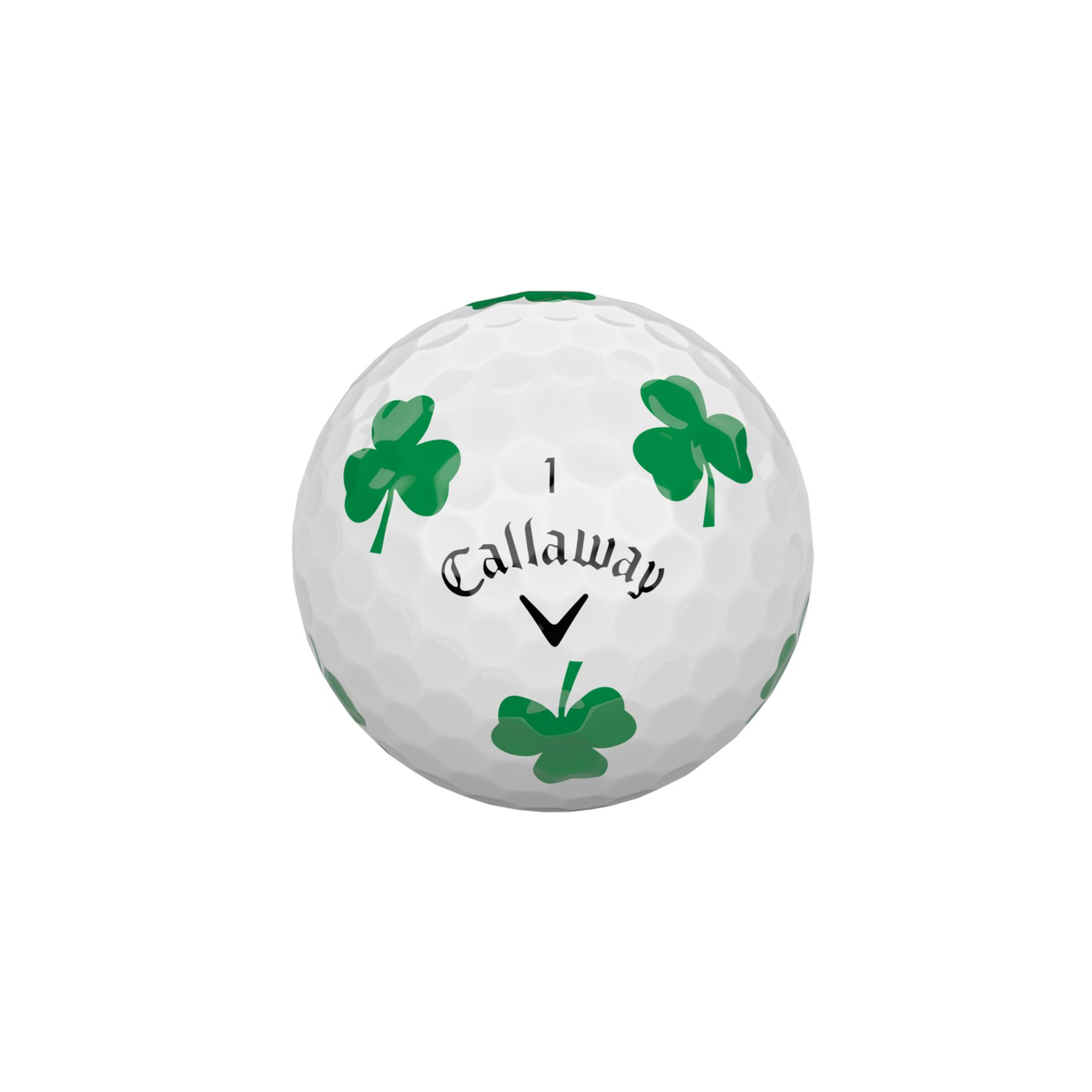 Chrome Soft Truvis Golf Balls - Clover Edition