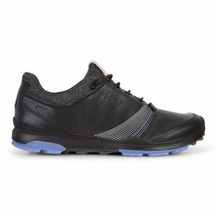 Women's Goretex Biom Hybrid 3 Spikeless Golf Shoe - BLACK/BLUE