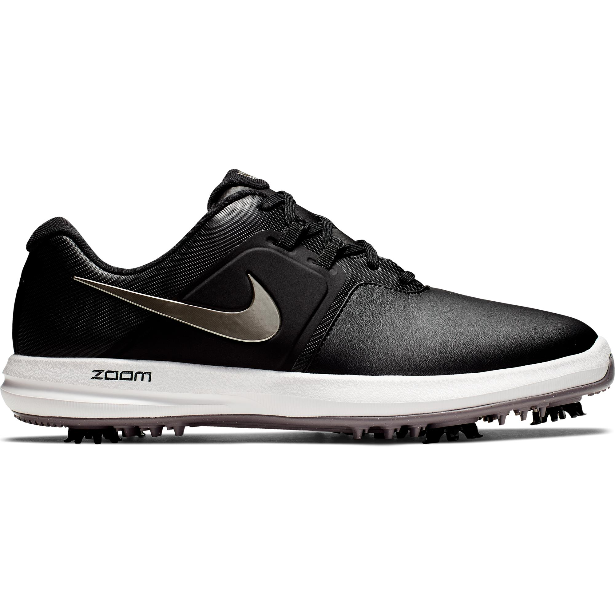 Men's Air Zoom Victory Spiked Golf Shoe - BLACK/SILVER