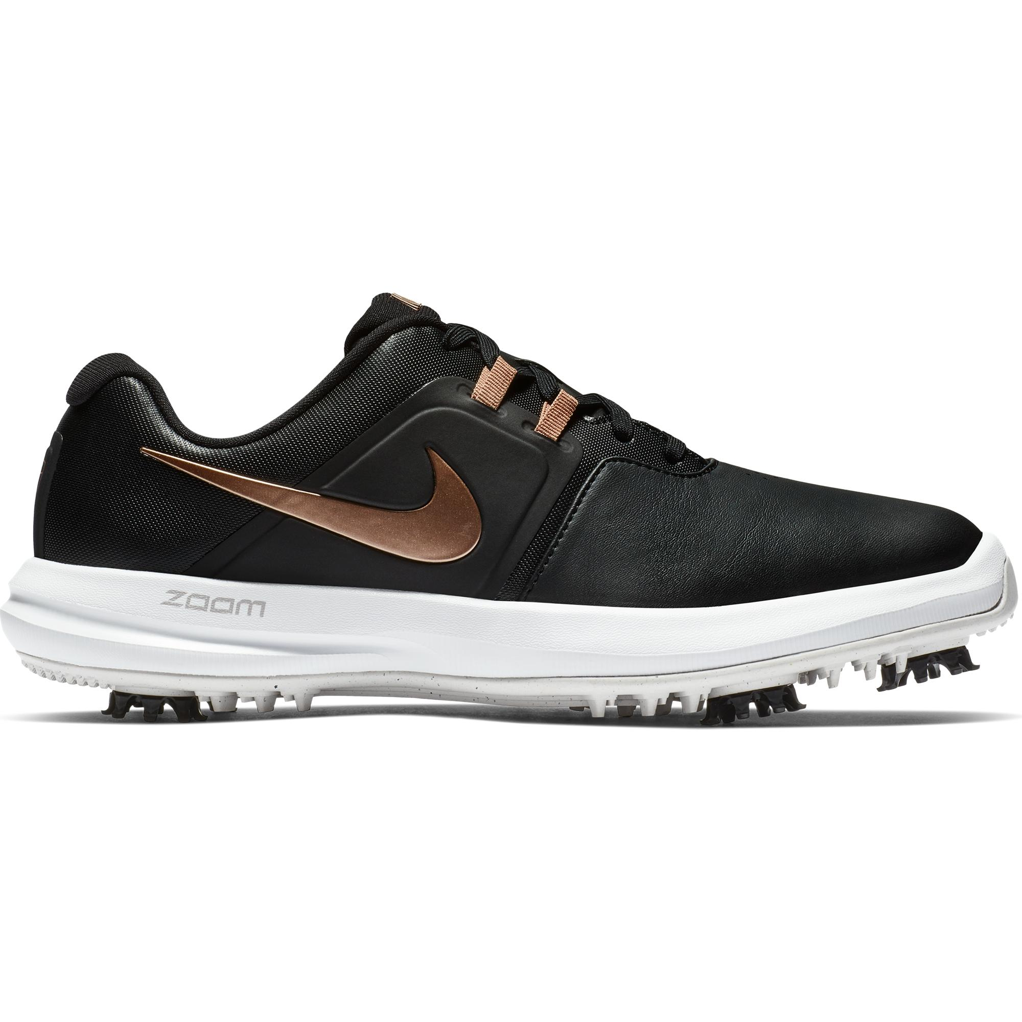 Women's Air Zoom Victory Spiked Golf Shoe - BLACK/PINK