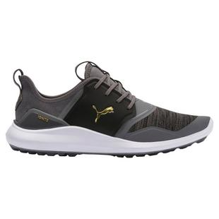 Men's Ignite NXT Spikeless Golf Shoe - GREY/GOLD