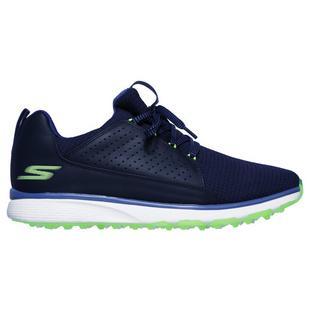 Men's Go Golf Mojo Elite Spikless Golf Shoe - NAVY/GREEN