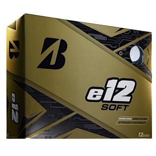 e12 Soft Golf Balls - White