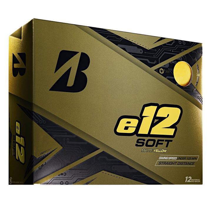 e12 Soft Golf Balls - Yellow