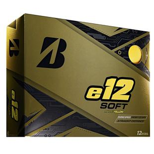 e12 Soft Matte Golf Balls - Yellow