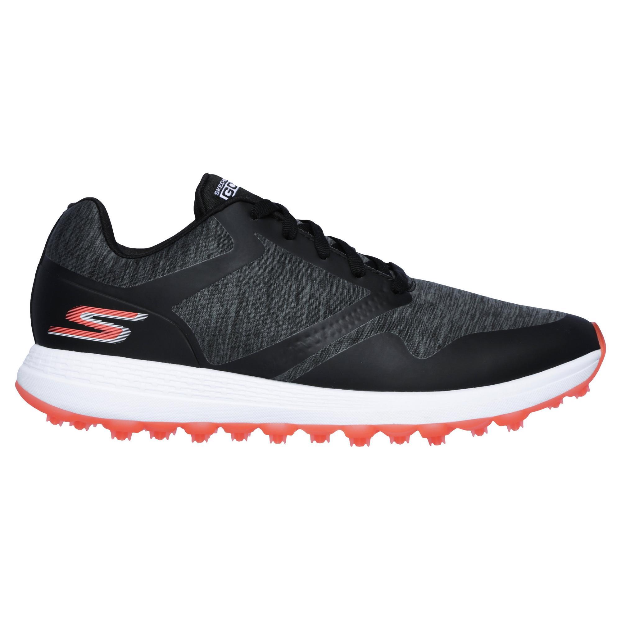 Women's Go Golf Max Cut Spikeless Golf Shoe - BLACK/PINK