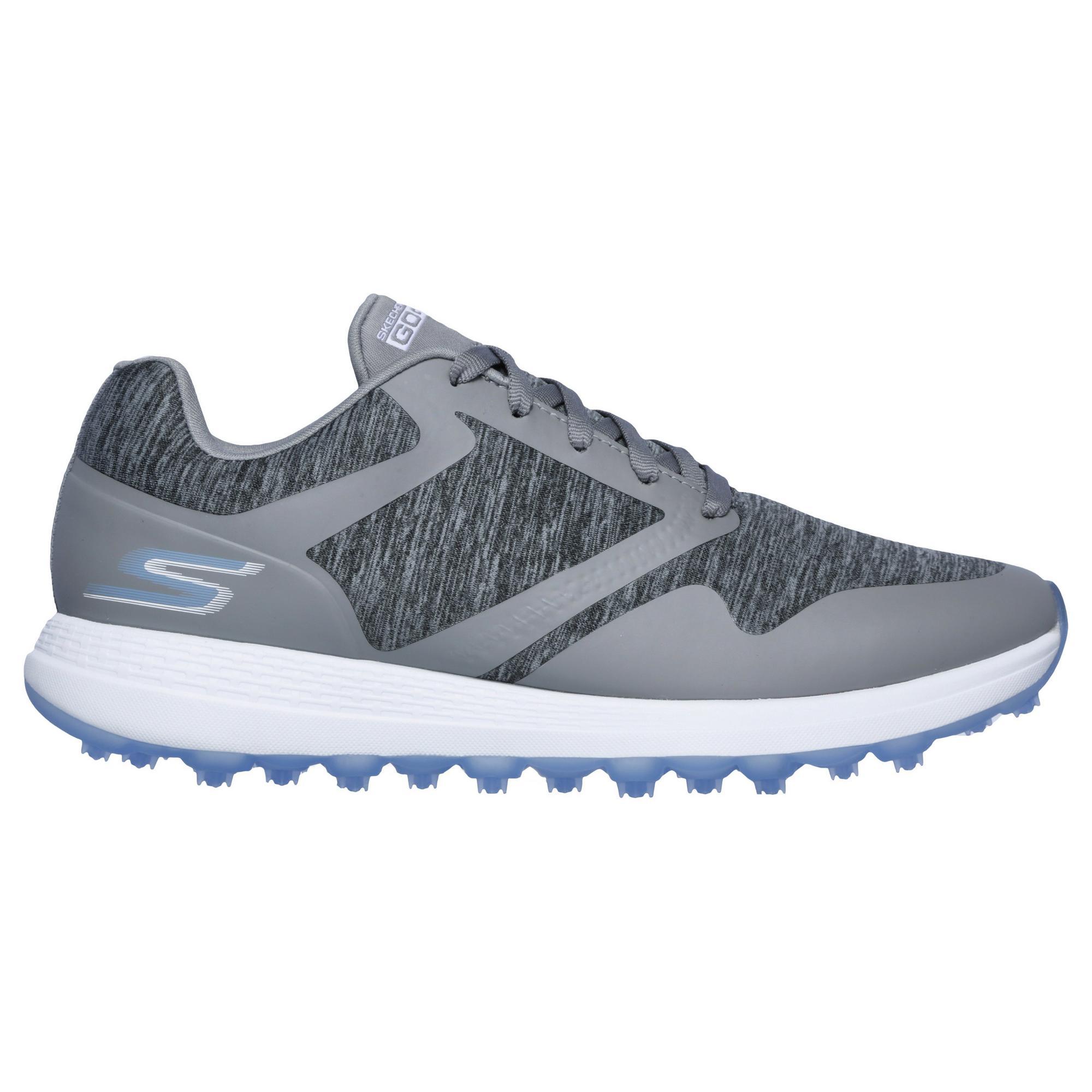 Women's Go Golf Max Cut Spikeless Golf Shoe - GREY/BLUE