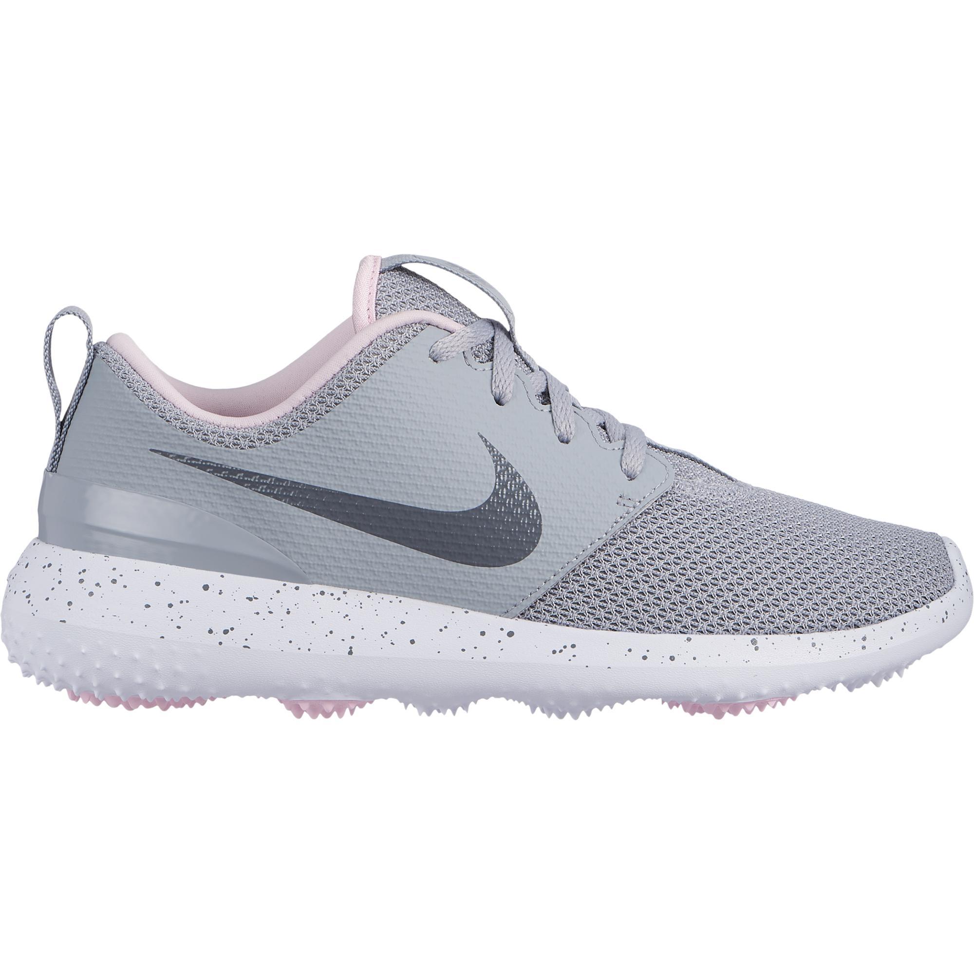 Women's Roshe G Spikeless Golf Shoe - GREY/LIGHT PINK