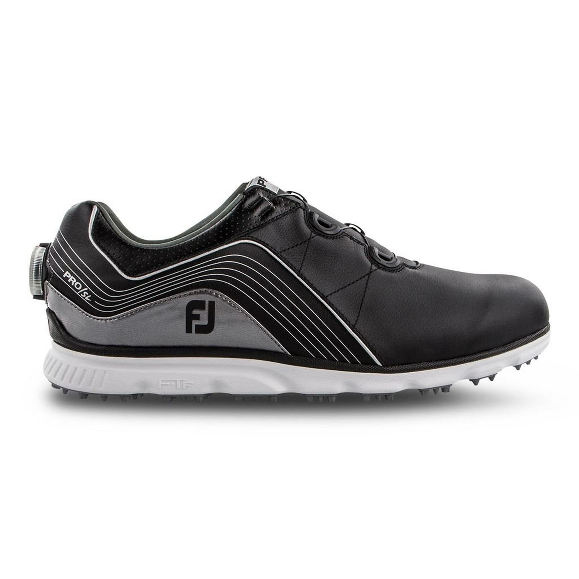 Men's Pro SL Boa Spikeless Golf Shoe - BLACK/GREY