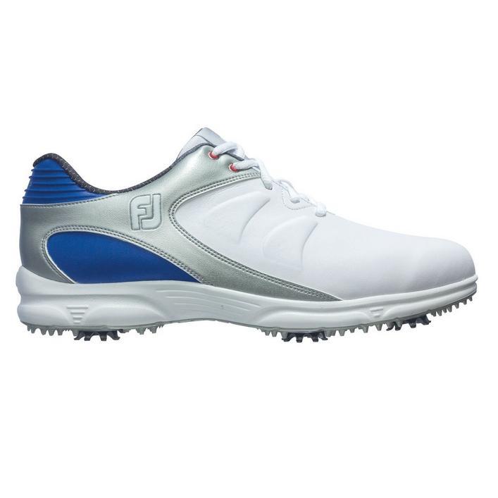 Men's Arc XT Spiked Golf Shoe - WHITE/BLUE/SILVER