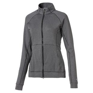 Women's Vented Full Zip Sweater Jacket