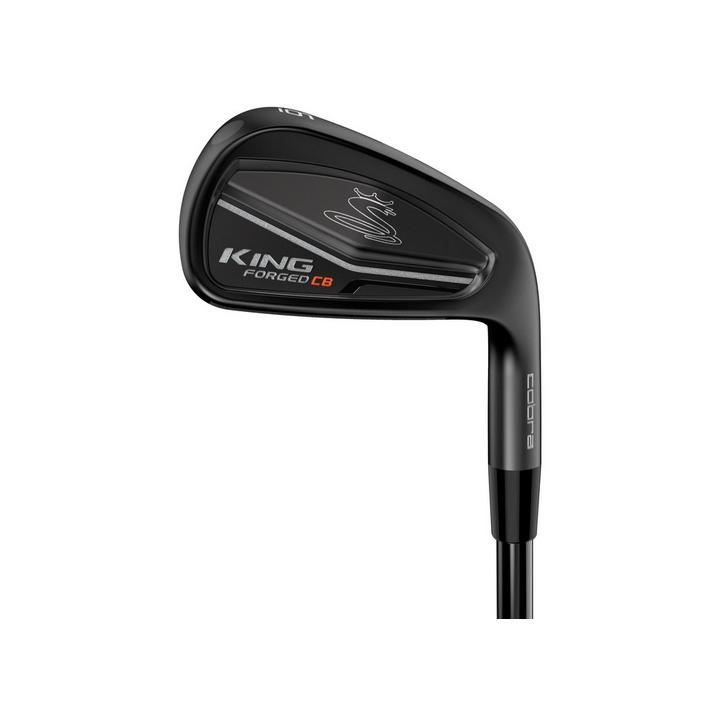 King Forged CB/MB 4-PW Iron Set with Steel Shafts