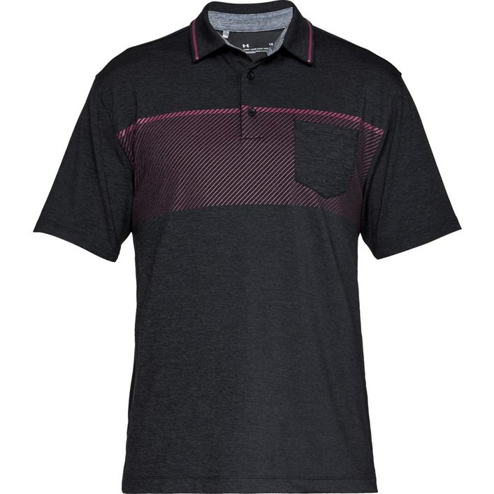 Men's Playoff Pocket Short Sleeve Polo