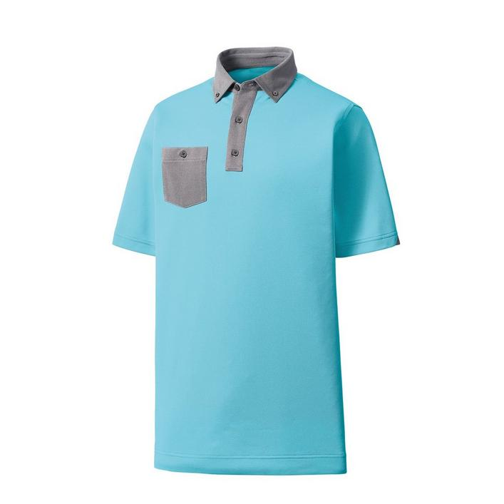Men's Birdseye Jacquard Short Sleeve Shirt