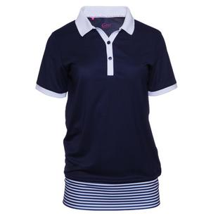 Women's Alexa Blouson Short Sleeve Polo