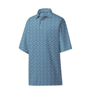 Men's Lisle Floral Print Short Sleeve Shirt