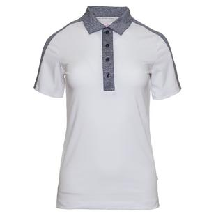 Women's Kate Contrast Collar Short Sleeve Polo
