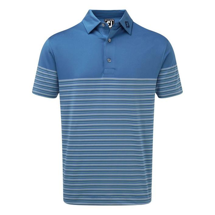 Men's Multi Lisle Pinstripe Short Sleeve Shirt