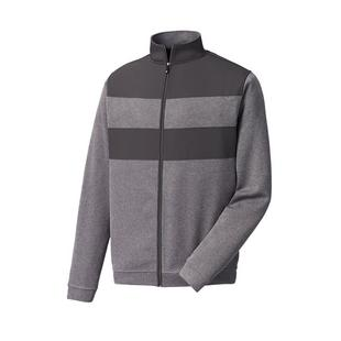Men's Warmth Ribbed Full Zip Pullover