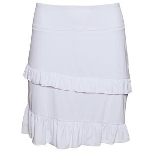 Women's Selena 18 Inch Pull On Ruffle Skort