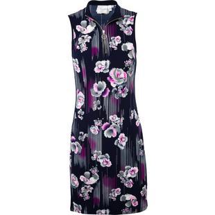 Robe à imprimé floral sans manches pour femmes