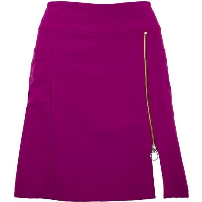 Women's Asymmetrical Zip Skort