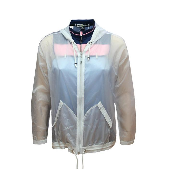 Women's Translucent Full Zip Wind Jacket