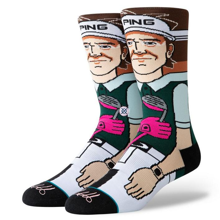 Chaussettes tube Bubba Watson pour hommes