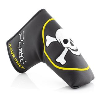 Skull & Crossbones Circle Tour Headcover - Blade Putter